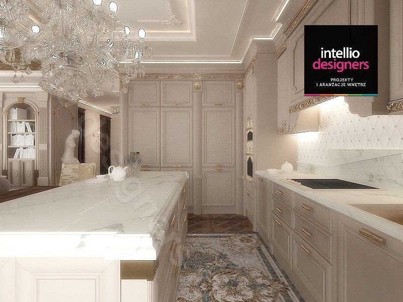 Projekt luksusowej kuchni Intellio designers