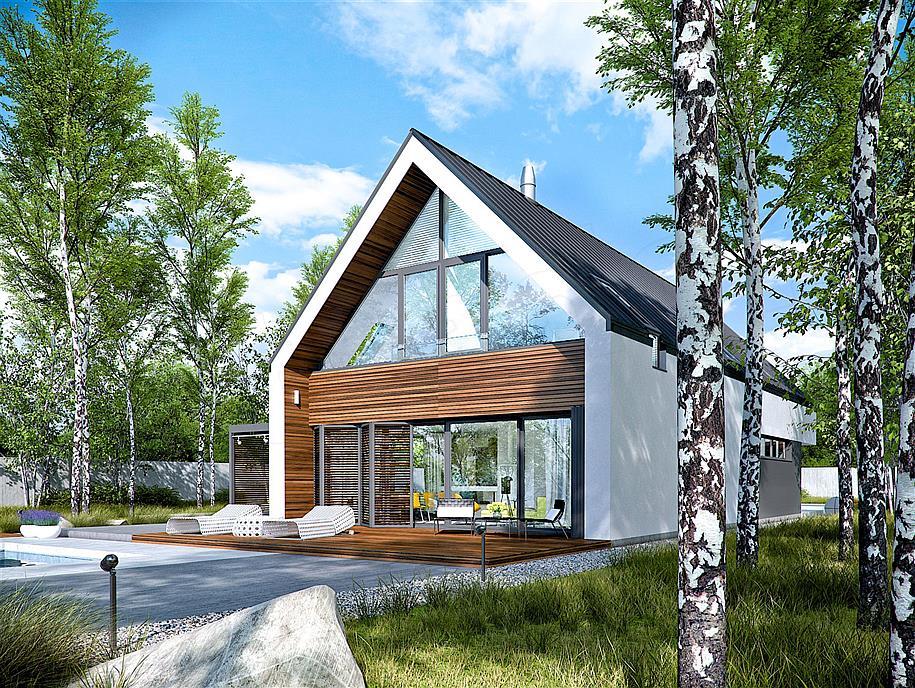 Projekt domu EX 19 G2 energo plus WRC2697
