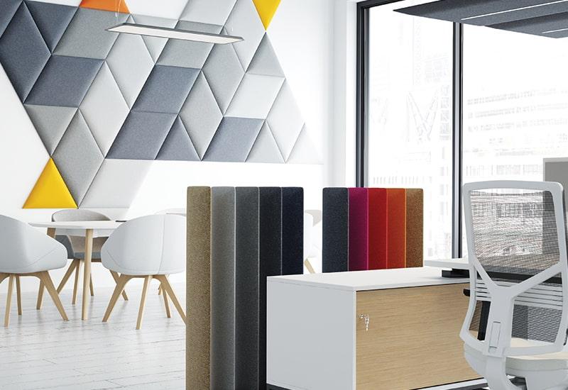 nowoczesne panele akustyczne