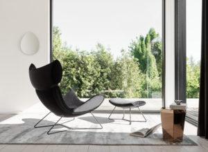 Mode wnętrza Henrik Pedersen Boconcept fotel Imola