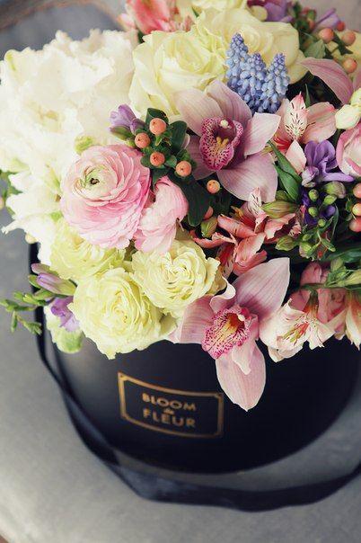 flower box kwiaty w pudełku