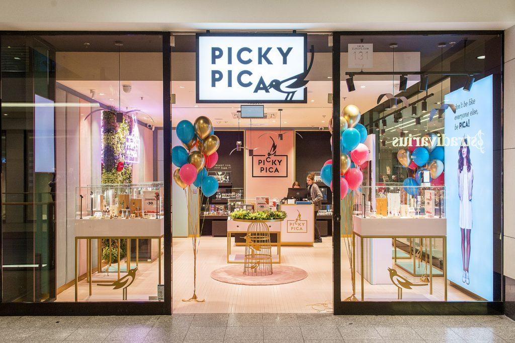 salon Picky Pica w Polsce w Galerii Krakowskiej